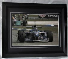 DHWREBF DAMON HILL SIGNED